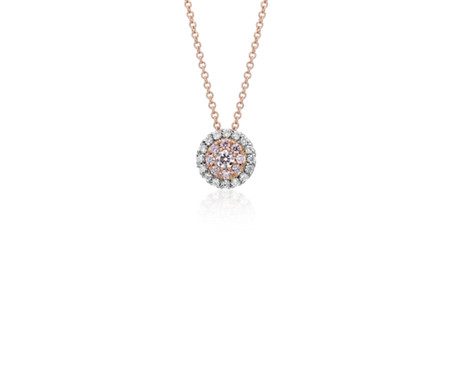 diamond pink necklaces necklace models