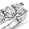 Blue Nile Signature Five Stone Diamond Ring in Platinum (2 ct. tw.)