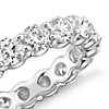 Blue Nile Signature Comfort Fit Diamond Eternity Ring in Platinum (3 ct. tw.)