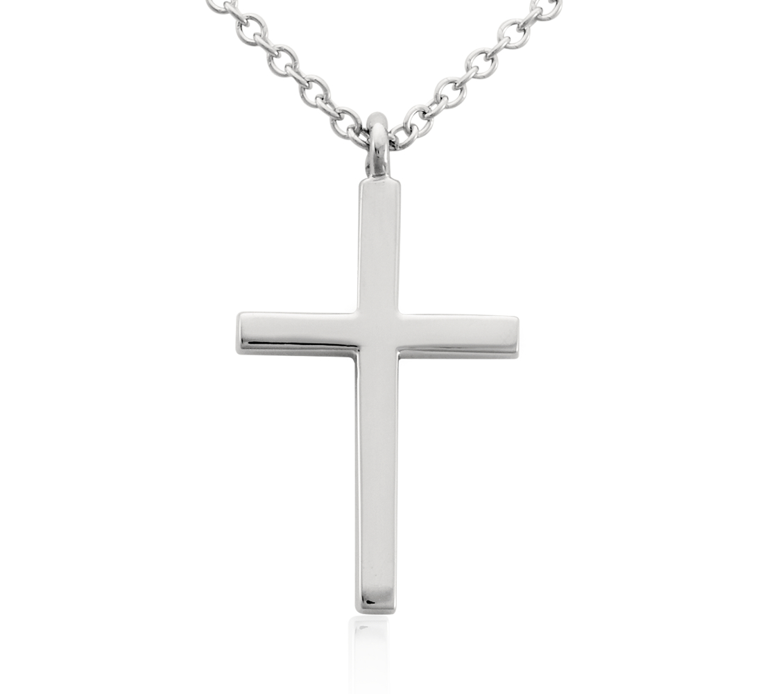 Cross Pendant in Platinum