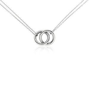 铂金 无限式多圈项链