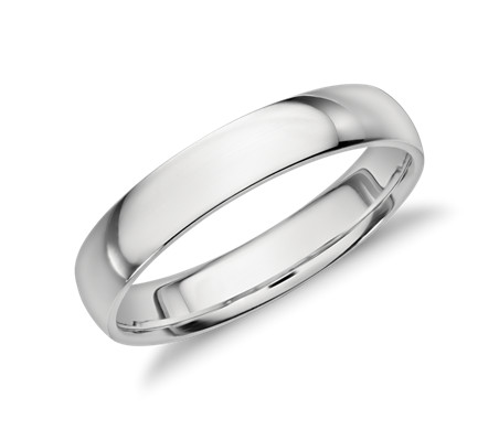 Mid weight comfort fit wedding band in platinum 4mm blue nile mid weight comfort fit wedding band in platinum 4mm junglespirit Gallery