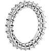 Princess Cut Diamond Eternity Ring in Platinum (2.0 ct. tw.)