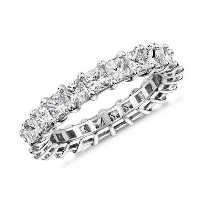 NEW Princess Cut Diamond Eternity Ring in Platinum (3.0 ct. tw.)