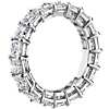 Princess Cut Diamond Eternity Ring in Platinum (5.5 ct. tw.)