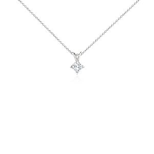 Princess-Cut Diamond Pendant in Platinum (1/2 ct. tw.)