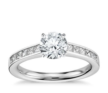 rings gold ring in round ct tw wedding diamond halo white engagement p