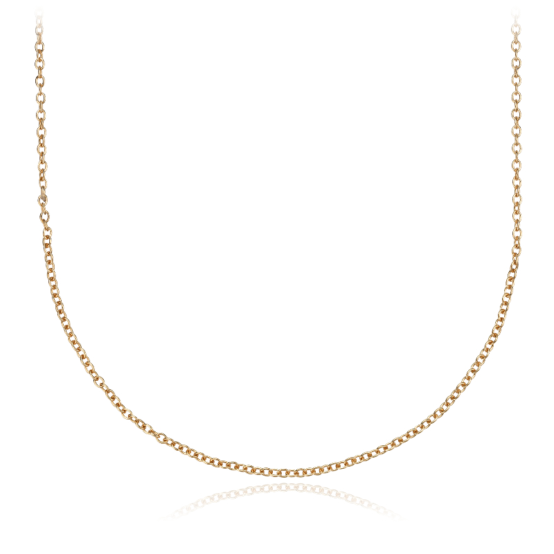 18K Yellow Gold Chain (without BYO Pendant)