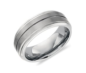 Wedding Ring  in Titanium (8mm))