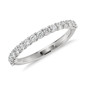 Luna Diamond Ring in Platinum