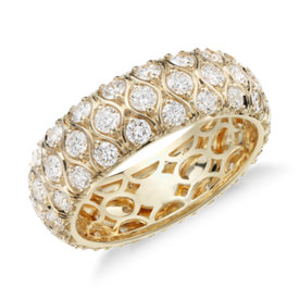 Radiance Diamond Eternity Ring in 18k Yellow Gold (2.25 ct. tw.)