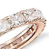 Radiant-Cut Diamond Eternity Ring in 18k Rose Gold (4.00 ct. tw.)