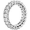 Radiant Cut Diamond Eternity Ring in Platinum (5.0 ct. tw.)