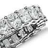 Radiant Cut Diamond Eternity Ring in Platinum (6 ct. tw.)