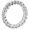 Ribbon Profile Diamond Eternity Ring in 18k White Gold- H/SI2 (2 ct. tw.)