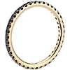 Riviera Noir Black Diamond Ring in 18k Yellow Gold (1/2 ct. tw.)