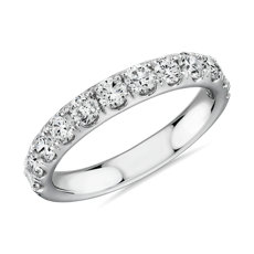 Riviera Pavé Diamond Ring in Platinum (1 ct. tw.)