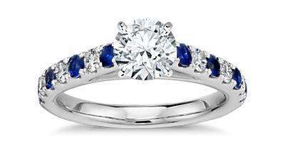 Sapphire Sidestones