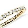 Riviera Pavé Diamond Eternity Ring in 18k Yellow Gold (1/2 ct. tw.)