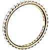 Riviera Pavé Diamond Eternity Ring in 18k Yellow Gold