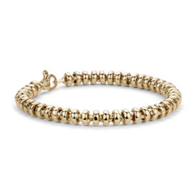 Rondel Bracelet in 14k Yellow Gold