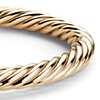 Rope Bangle Bracelet in 14k Yellow Gold