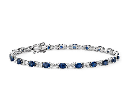 nile phab en main fr blue detailmain white diamond bracelet gold lrg in