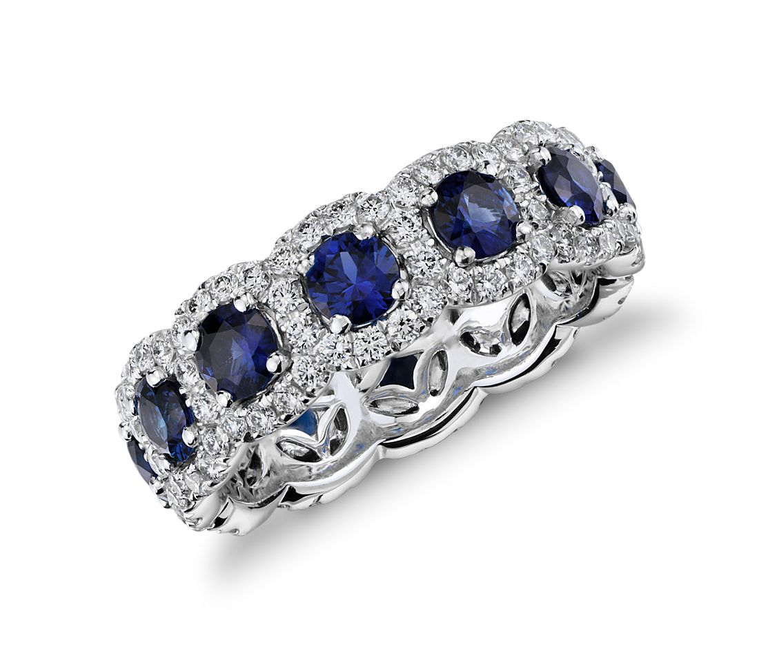 Sapphire And Diamond Ring Blue Nile
