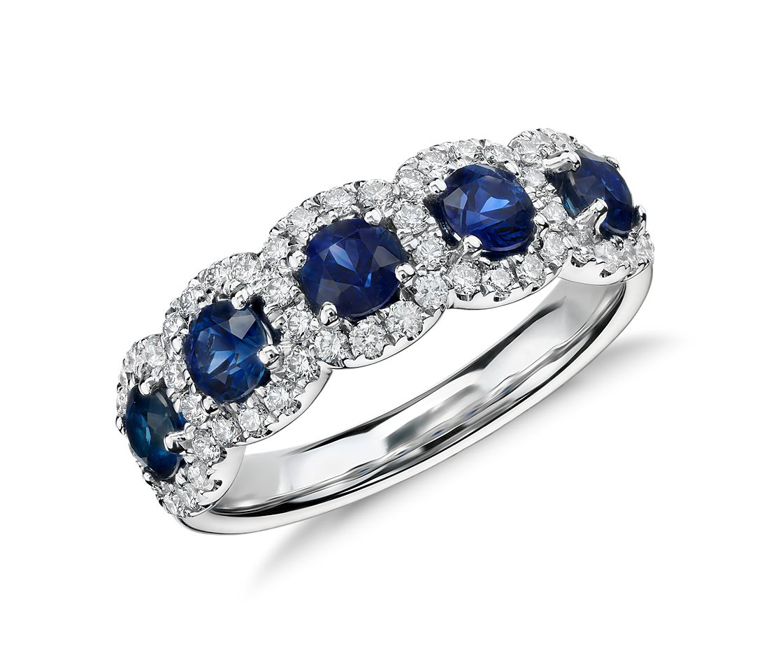 By  Cushion Sapphire Ring