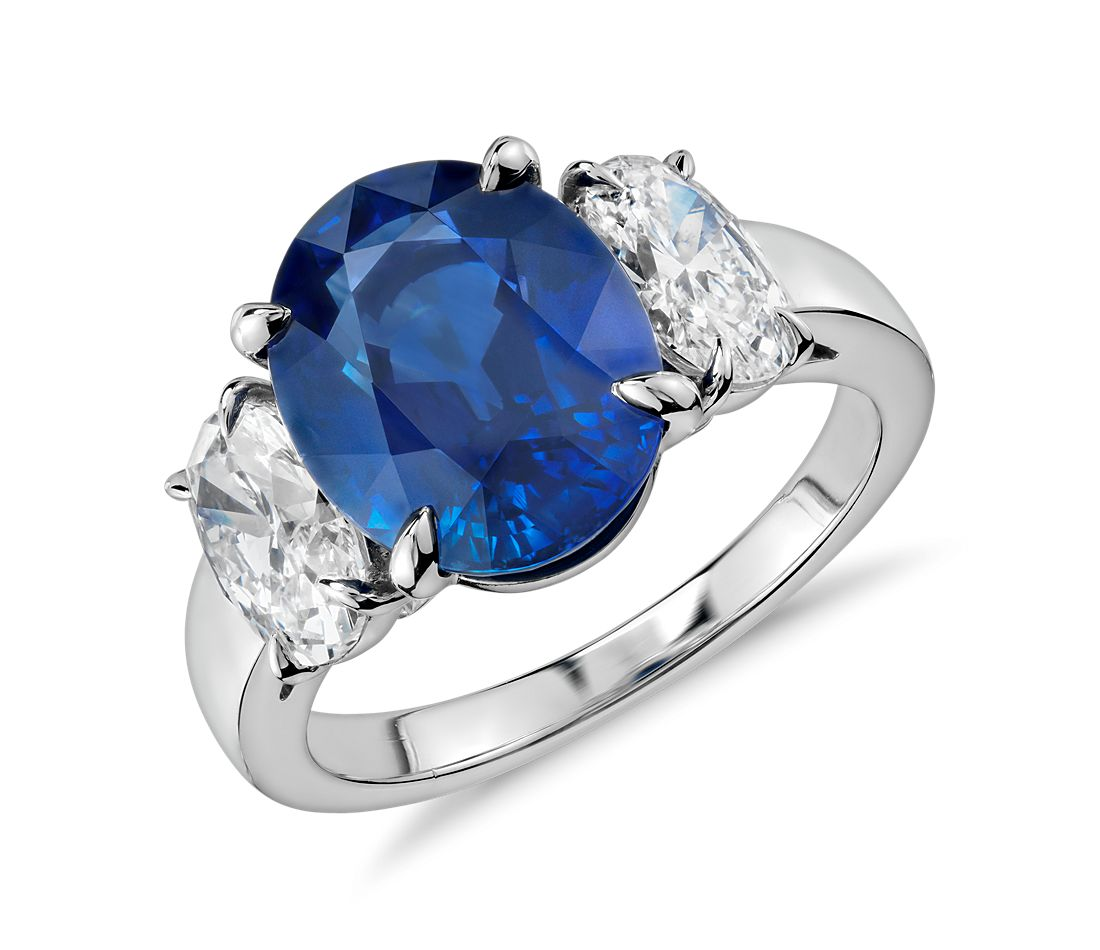 Sapphire And Diamond Ring Mountings
