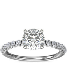 NEW Selene Diamond Engagement Ring in Platinum (1/3 ct. tw.)