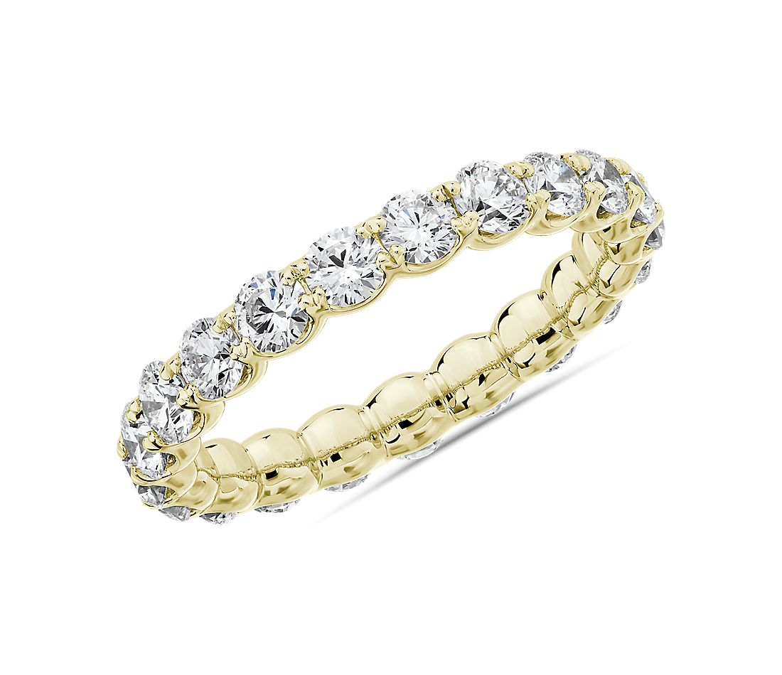 Selene Diamond Eternity Ring in 14k Yellow Gold (2 ct. tw.)