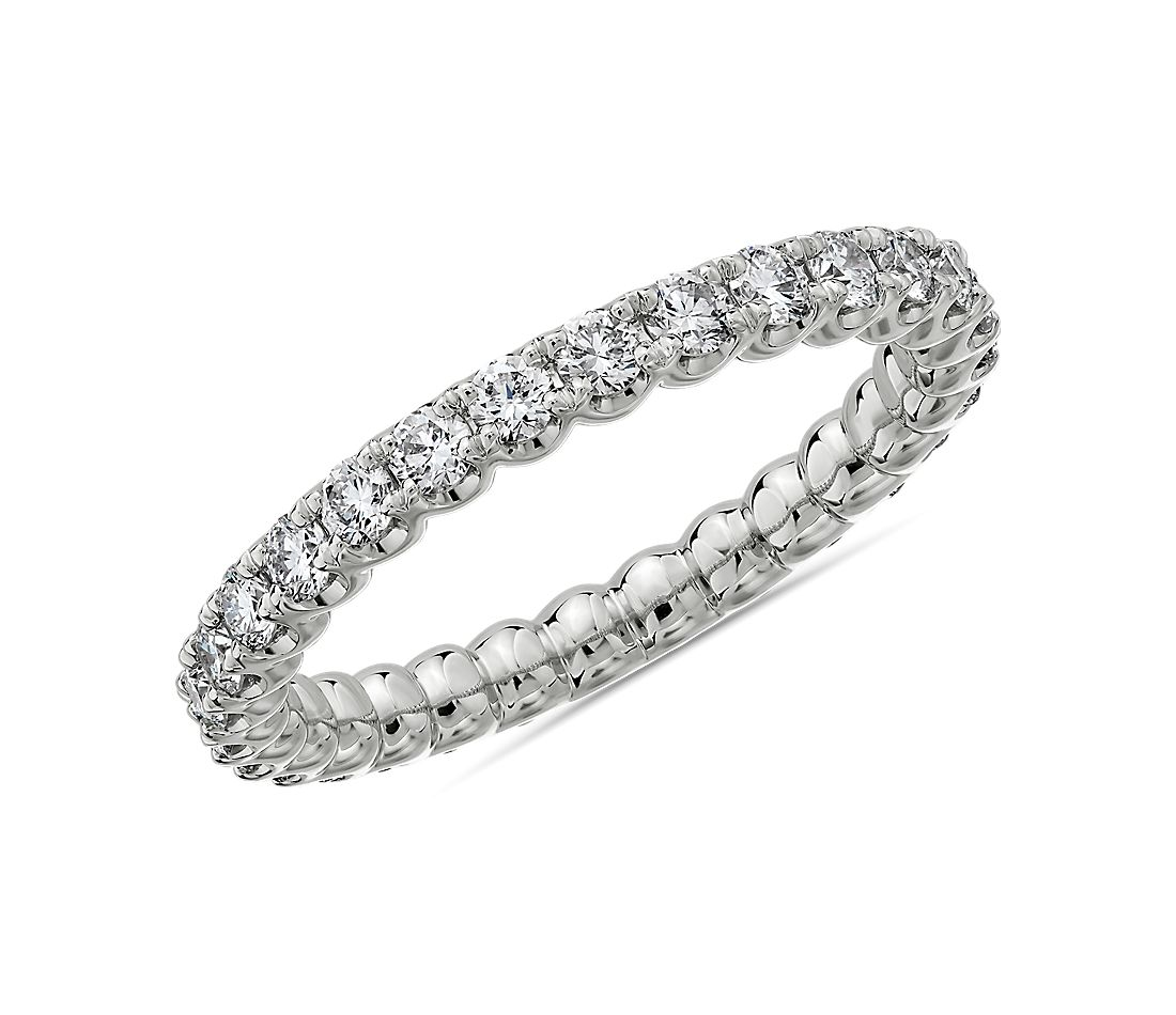 Selene Diamond Eternity Ring in Platinum (1 ct. tw.)