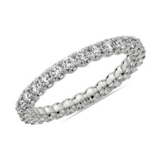 NEW Selene Diamond Eternity Ring in Platinum (1 ct. tw.)