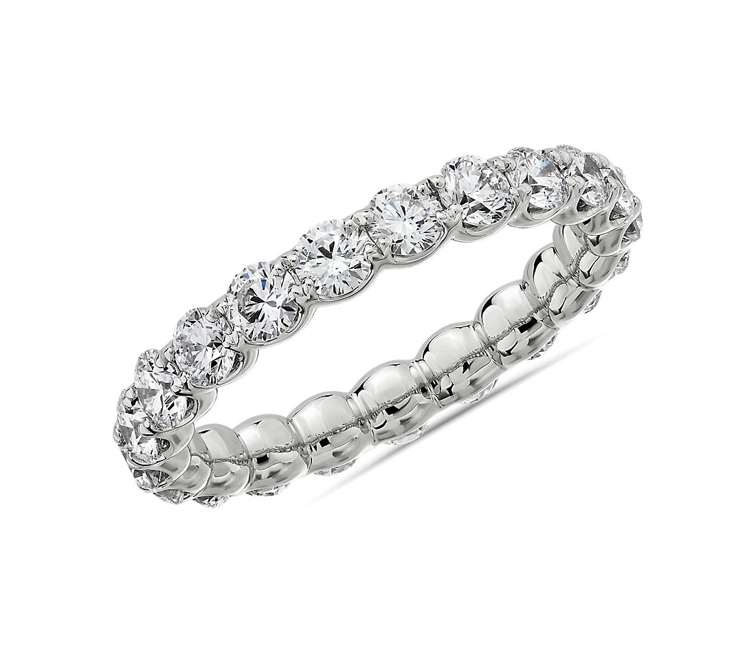 Selene Diamond Eternity Ring in Platinum (2 ct. tw.)