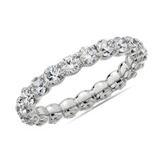 NEW Selene Diamond Eternity Ring in Platinum (2 ct. tw.)