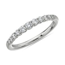 NEW Selene Graduated Diamond Anniversary Ring in Platinum (1/3 ct. tw.)