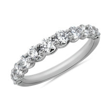Selene Graduated Diamond Anniversary Ring in Platinum (1 ct. tw.)