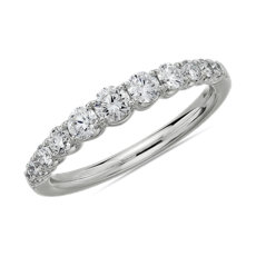 NEW Selene Graduated Diamond Anniversary Ring in Platinum (5/8 ct. tw.)