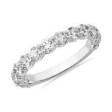 NEW Selene Three-Quarter 周年纪念钻石戒指 in 铂金 (1 1/2 克拉总重量)