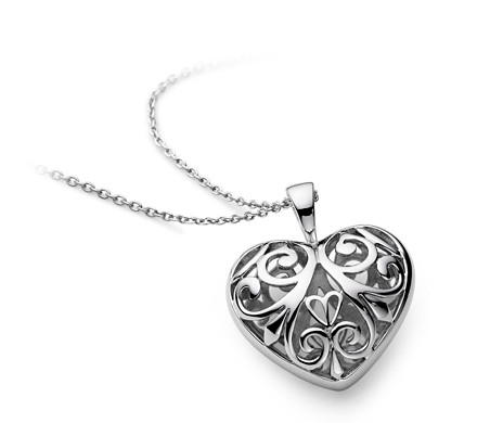 Filigree heart pendant in sterling silver blue nile filigree heart pendant in sterling silver aloadofball Gallery