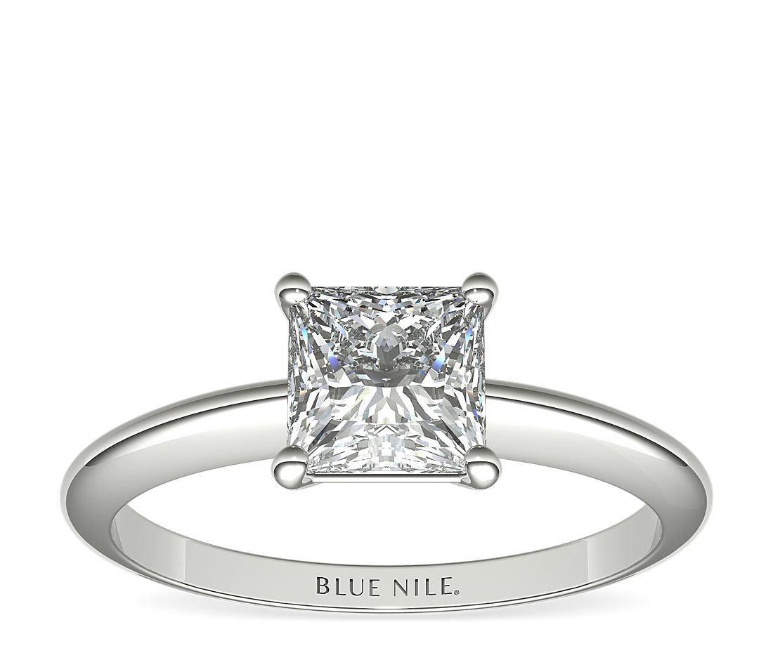 Blue Nile Classic Four-Prong Solitaire