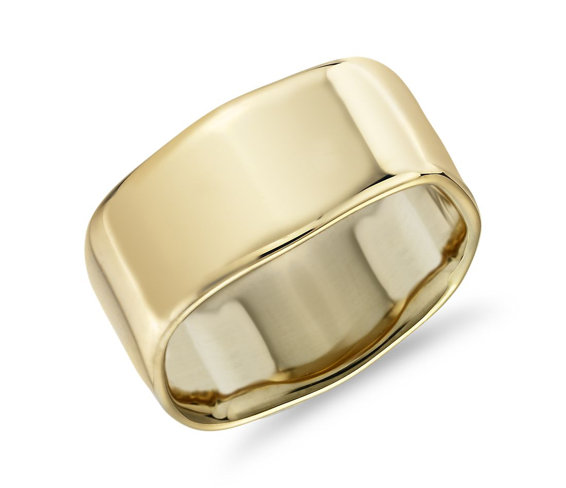 Square Fashion Ring in 14k Yellow Gold