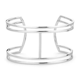 Statement Cuff in Sterling Silver