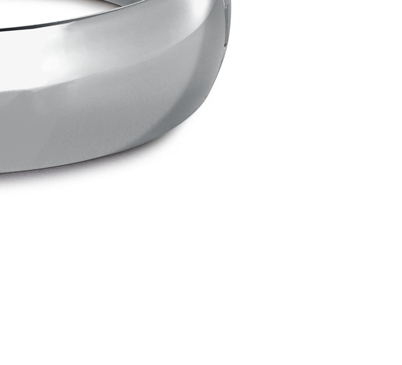 Bracelet jonc arrondi large en argent sterling