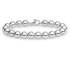 Beads Bracelet in Sterling Silver