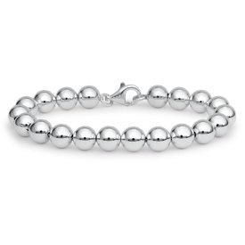 Bracelet en perles en argent sterling