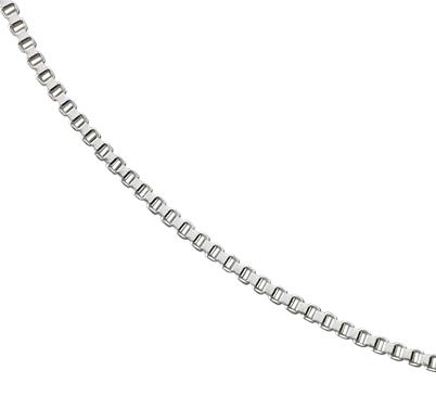 Collier chaîne à mailles vénitiennes en argent sterling