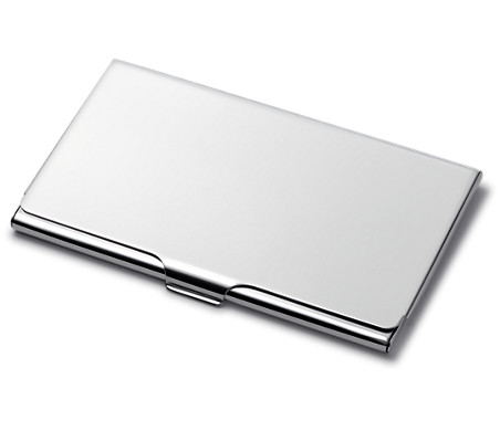Business card case in sterling silver blue nile business card case in sterling silver colourmoves