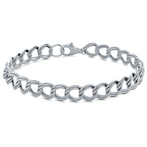 Charm Bracelet in Sterling Silver